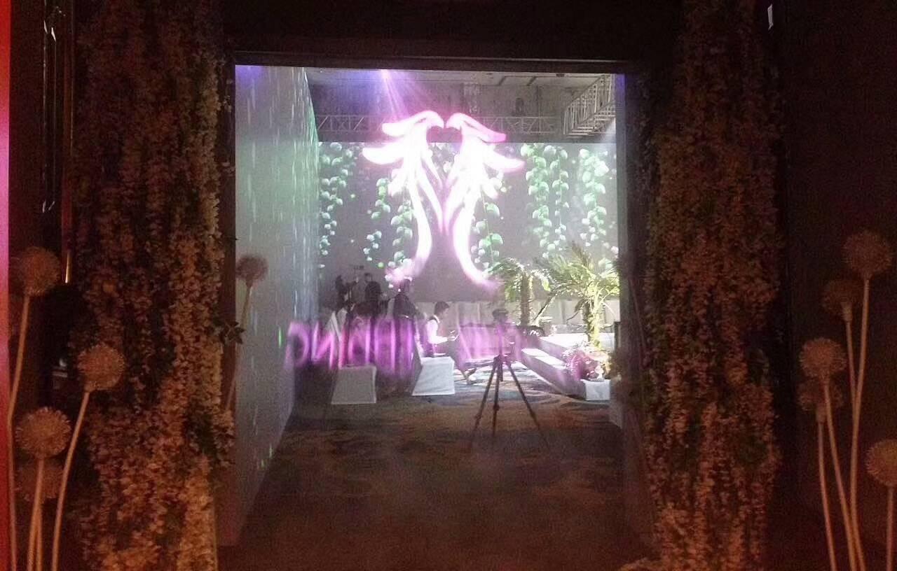 Heilongjiang tricks international hotel fog screen fog curtain 3D holographic effect display