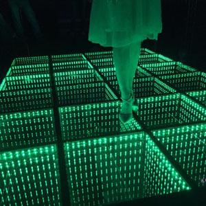 New LED Glass Floor Light