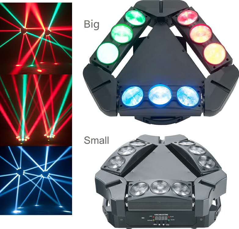 LED Bird Stagelight Equipment
