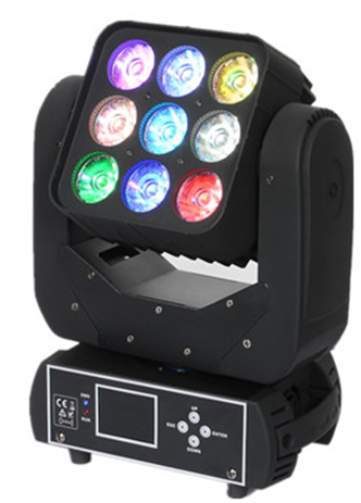 9*12W Matrix LED Moving Head