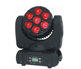 7*10W Dyeing beam moving head light