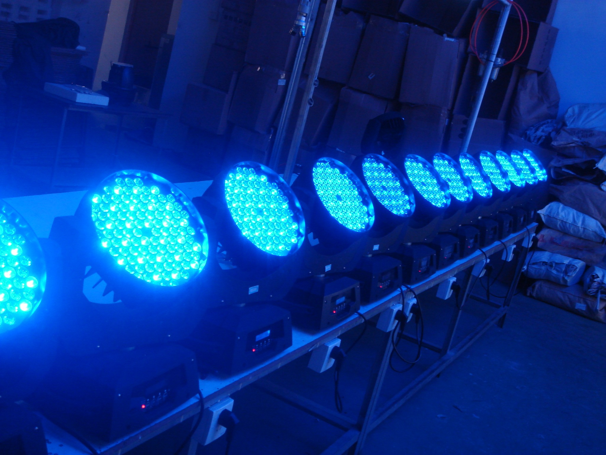 108*3W LED  Wash moving head light