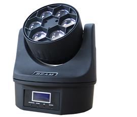 6pcs bee eye led  moving head light