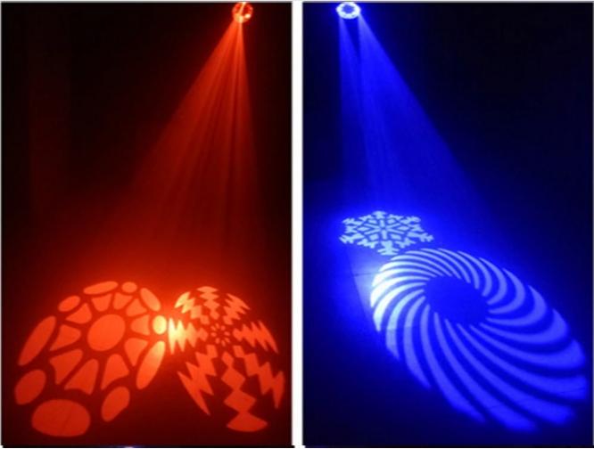 LED Eight Eye Effect Light