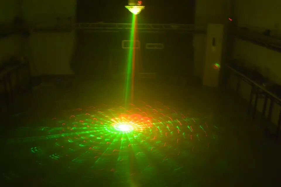 LED Big Laser Magic Ball Right