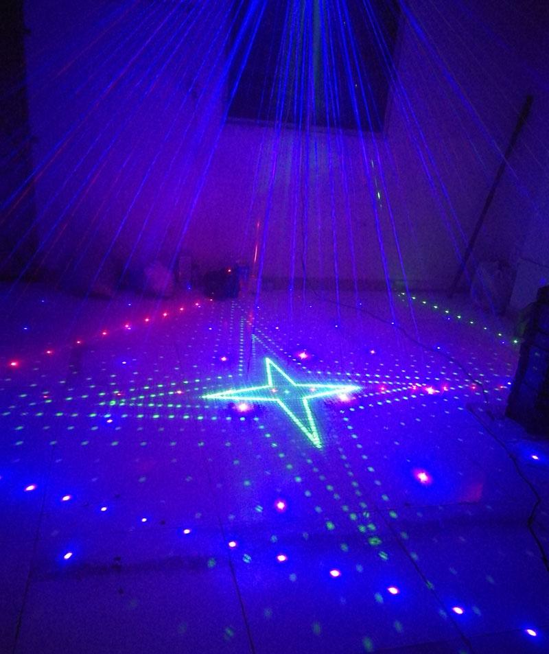Six Eye laser lights