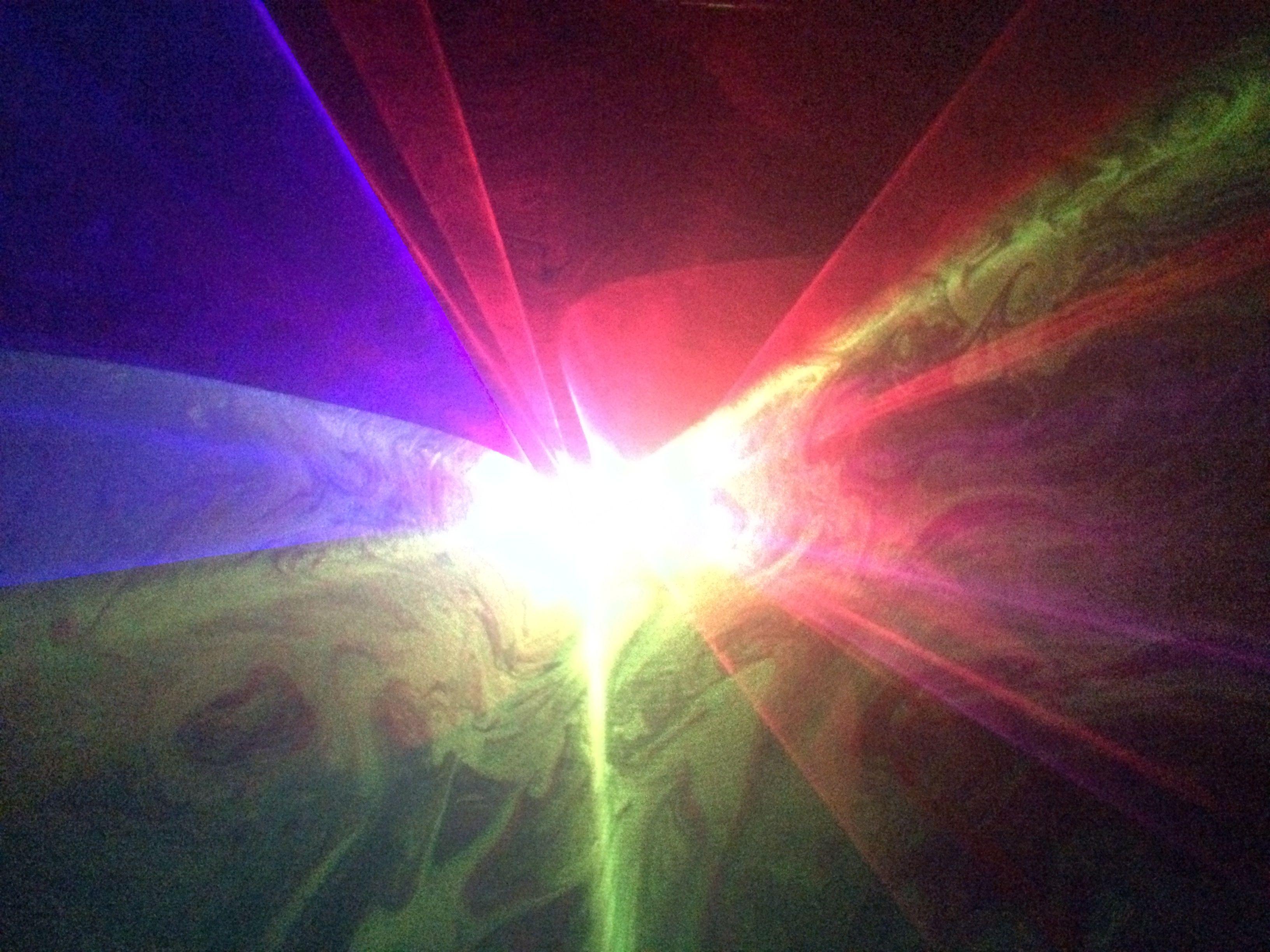 Full color RG 4 animated laser lights