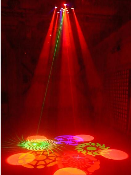 LED Bauhinia lamp entertainment lights