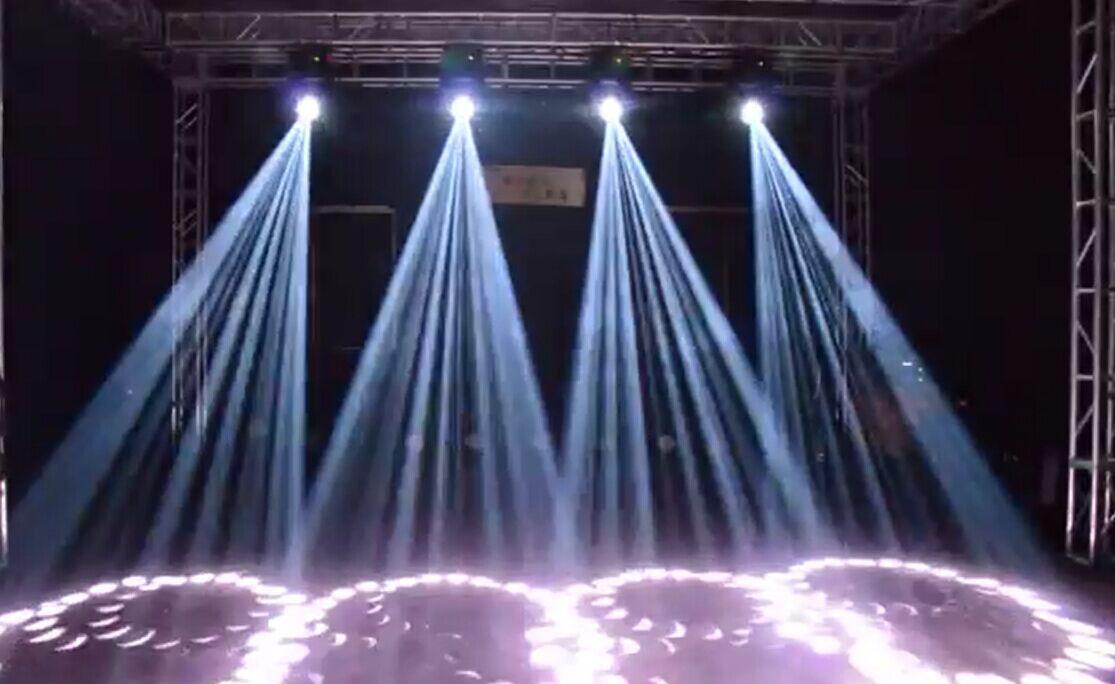 How the light beam is broken?