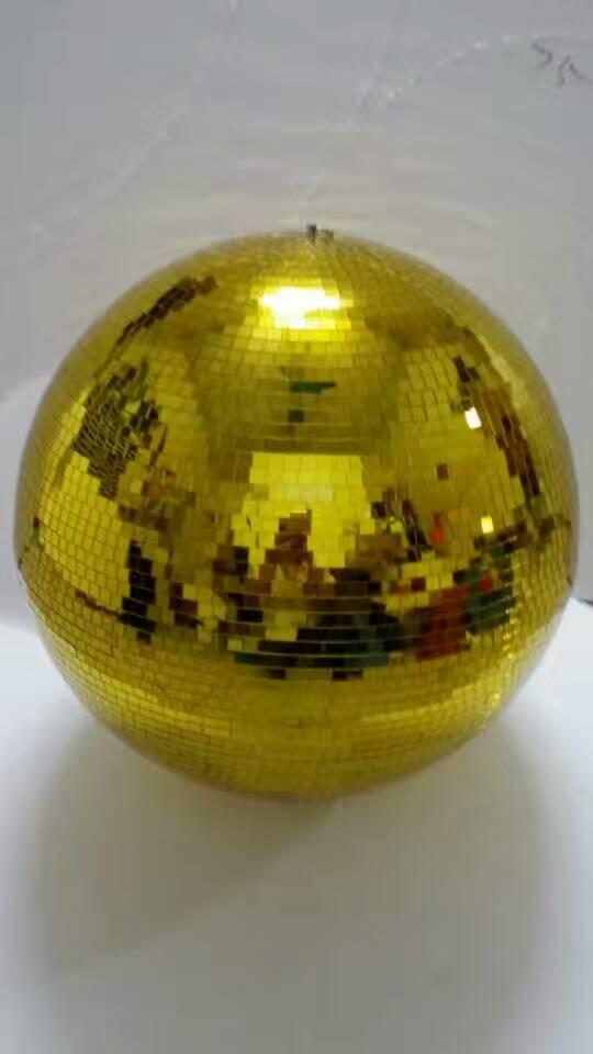 Reflected glass ball