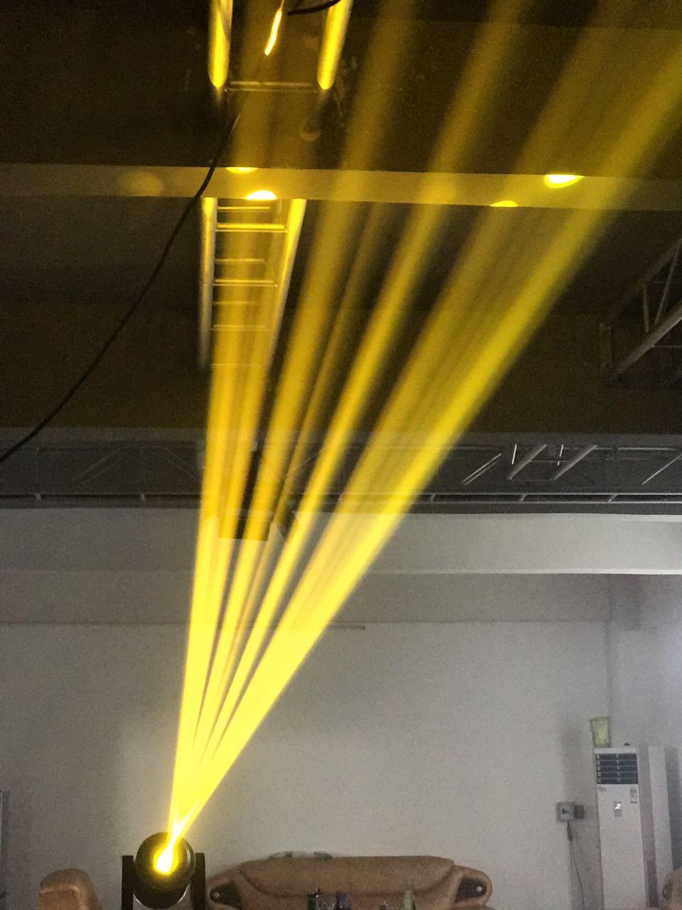 350W电脑摇头防雨光束灯效果图