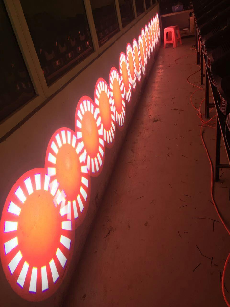 350W摇头光束图案灯三合一效果图