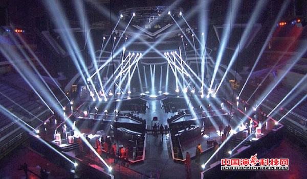 电视灯光和舞美灯光设计特点效果图