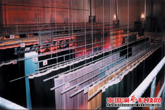 验收前的舞台机械工程设备自检要点效果图