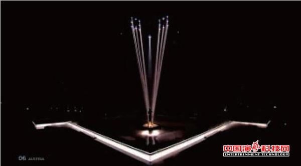 如何配合节目制作中舞台灯光与切像效果图