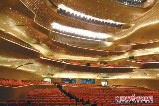 浅谈广州大剧院舞台灯光音响舞美效果效果图