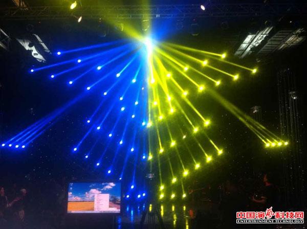 舞台灯光布置舞美效果注意方面效果图