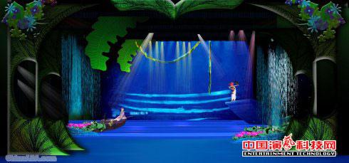 舞台美术舞美发展过程中障碍效果图
