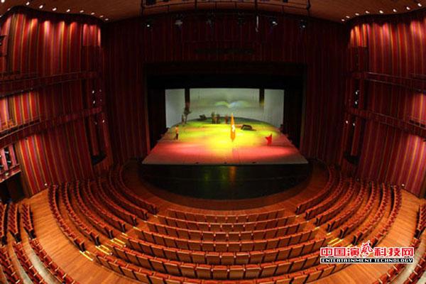 剧场建设的舞台灯光要素效果图