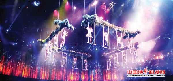 新要求及新控制系统特征在现代舞台舞美效果中体现效果图