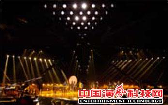 舞台灯光设计电视节目《全能星战》舞美灯光设计效果图
