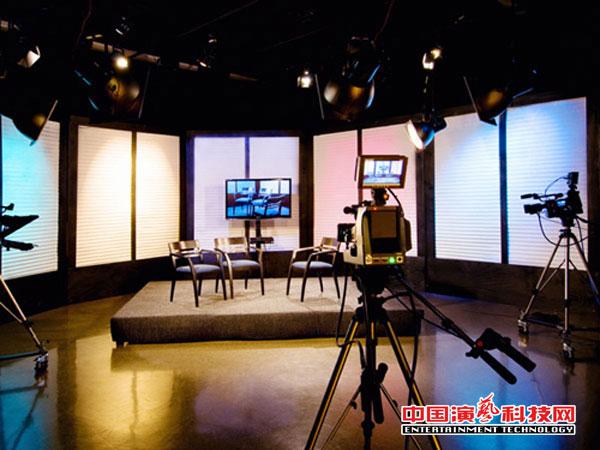 舞台灯光如何在电视台中展现其特有效果效果图