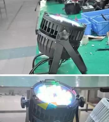 分析舞台灯光质量优略 产品差异效果图