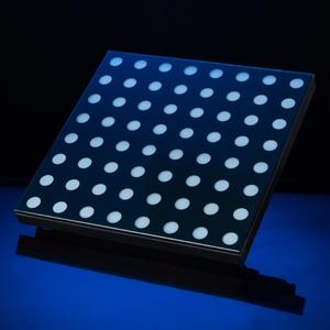 LED 感应地板屏效果图