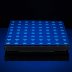 LED 数码地板屏效果图