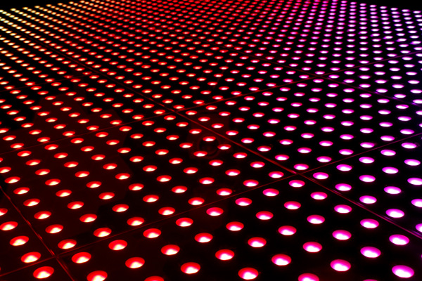 LED3D地板屏效果图