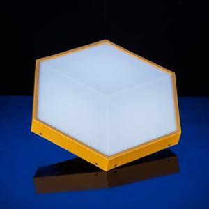 LED 裸眼3D 蜂巢灯效果图