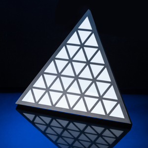 LED 三角像素灯效果图