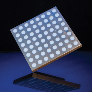 LED 黄金小矩阵效果图
