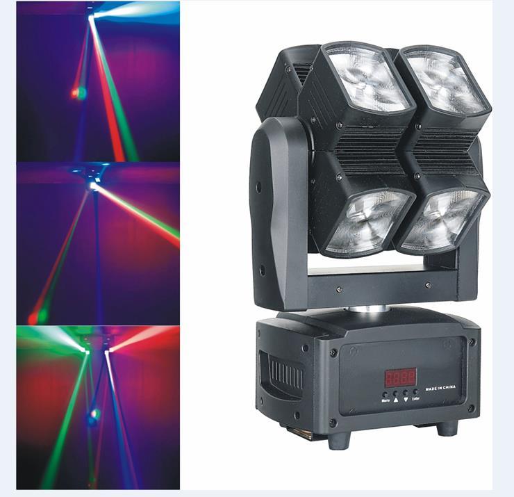 LED风火轮摇头舞台灯效果图