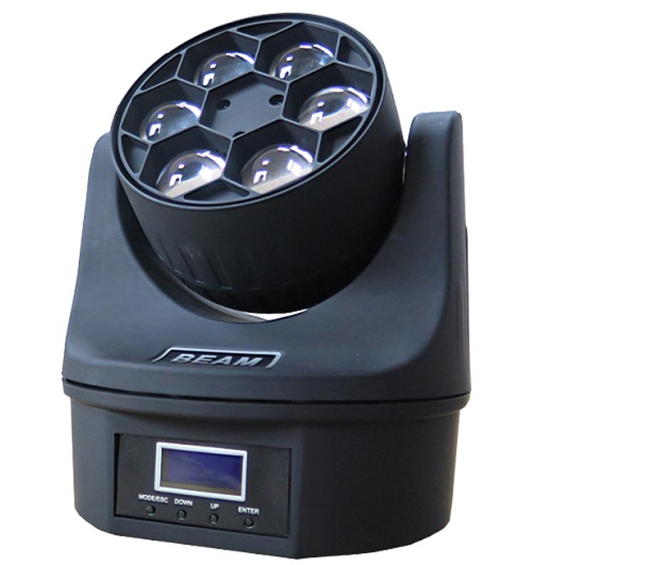 LED6眼无极光束