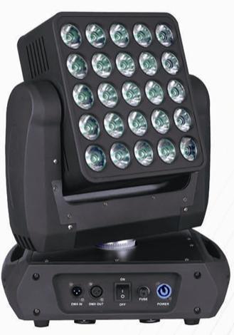 LED摇头矩阵灯25*15W