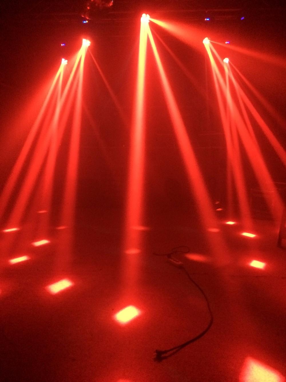 LED超级光束酒吧灯效果图