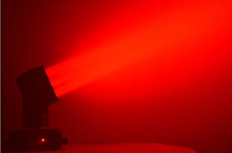 LED9颗矩阵摇头灯效果图