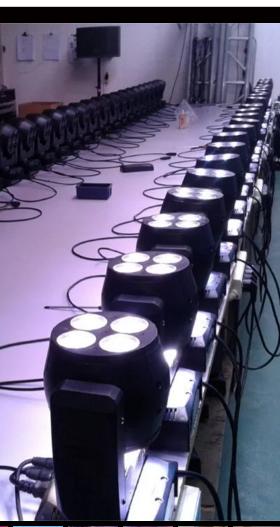 LED24*15W双面无极摇头灯效果图