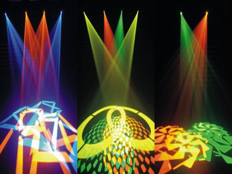 LED90W摇头图案灯效果图