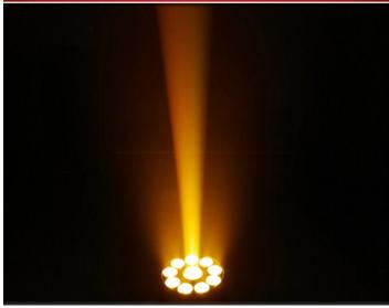 LED75W图案+9*12W染色效果图