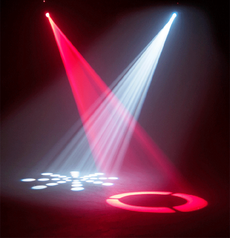 LED15/30W迷你图案摇头灯效果图