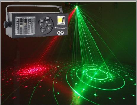 LED四合一包房效果灯