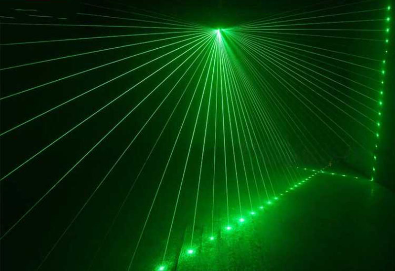 六眼激光灯效果图