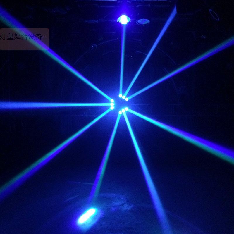 LED大摇头九头鸟效果图