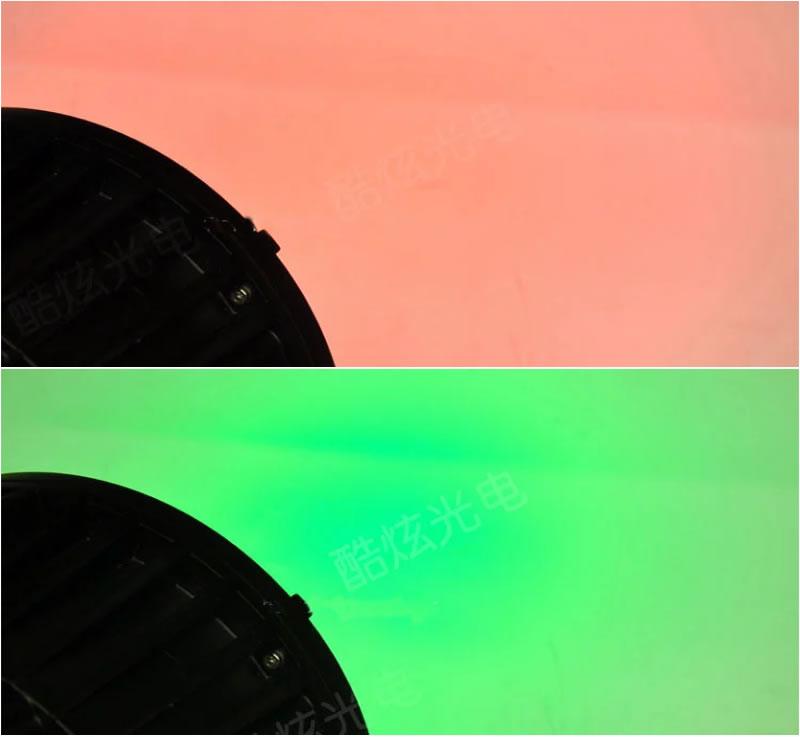 LED200W防水COB面光灯效果图