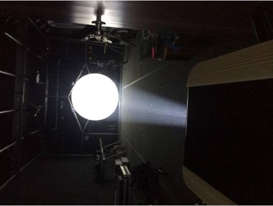 150W LED追光灯效果图