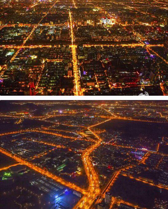 灯光在生活中的作用效果图