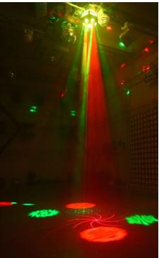 LED仙女散花灯 酒吧灯具效果图