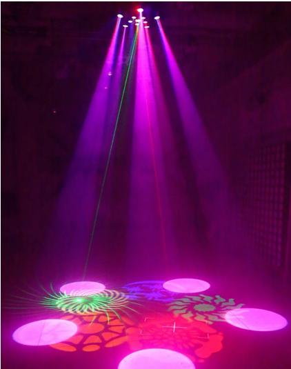 LED紫荆花灯娱乐场所灯效果图